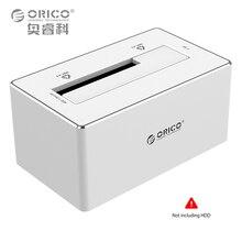 ORICO 6818US3-SV Алюминий 2.5 «/3.5» USB 3.0 SATA3.0 HDD Док-Станция для Macbook-Серебро (Не включая ЖЕСТКИЙ ДИСК)