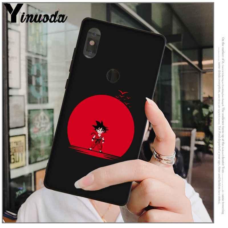 Yinuoda dragon topu z Özel Fotoğraf Yumuşak xiaomi için telefon kılıfı mi 6 Note3 8 8SE KıRMıZı mi 5 5 artı Note4 4X Note5 cep telefonları
