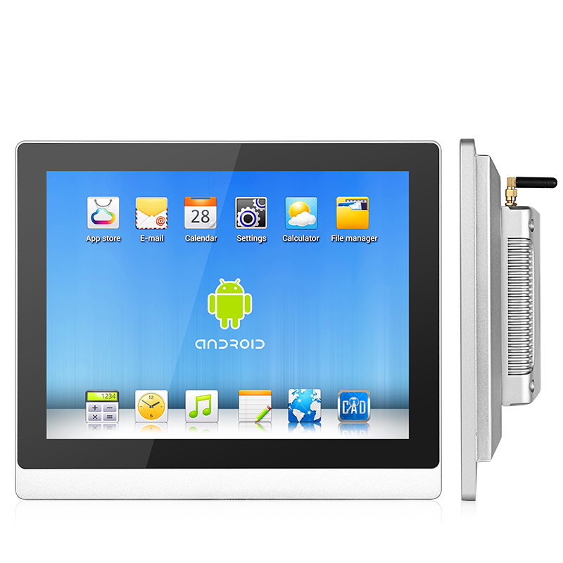 19 Inch RS485 RS232 DC12V 24V Industrial Touch Screen Computer All In One Panel PC With IP65 Front Panel And Expansion Slot