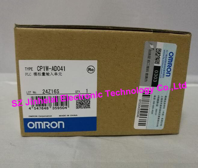 CP1W-AD041  New and original  OMRON PLC CONTROLLER  Analog input unit 100% new and original cj1w nc433 omron position control unit