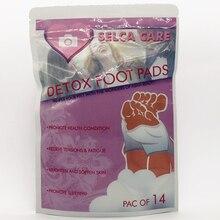 56 шт./4 предмета в партии новое горячее предложение оздоравливающий продукт китайский натуральный Детокс спальный ног, выводит токсины