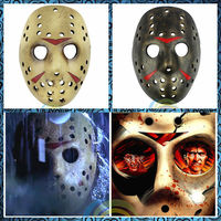 Free Shipping Scary Masks Jas The Psycho Killer Halloween Costumes Cosplay Toy son Cool Horror Disguise Prank Joke Gifts