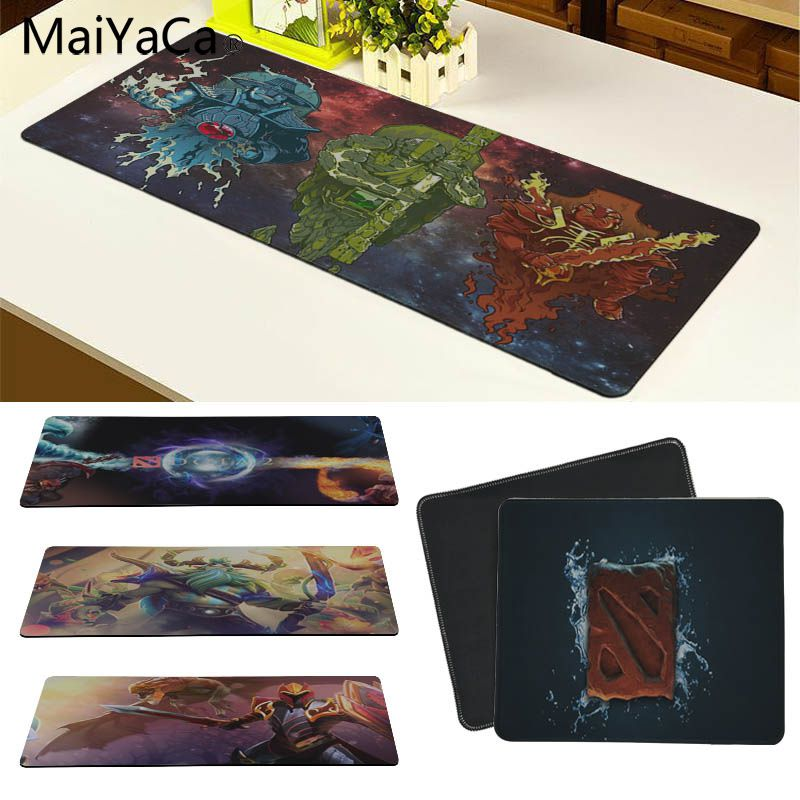 MaiYaCa Beautiful Anime Dota 2 High Speed New Mousepad Size for 180*220 200*250 250*290 300*800 and 300*900*2mm