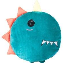 1PC 40cm+100*150cm Cute Cartoon Sea Animals Coral Fleece Blanket Air Conditioning Small A Dual-Purpose Pillow