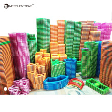 1 pcs piece Big size Magnetic Blocks DIY building single bricks parts accessory construct Magnet model Educational toys Mercury
