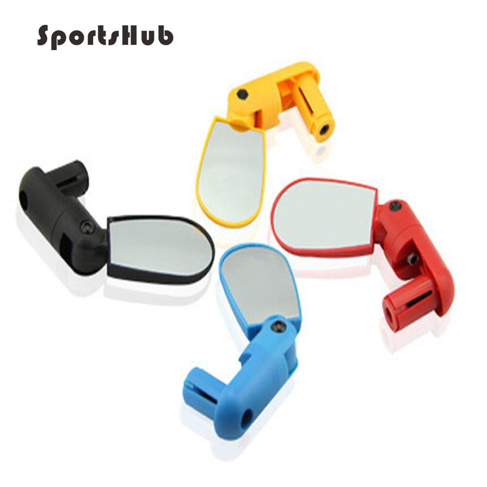 SPORTSHUB Cycling Bike Bicycle Handlebar Wide Angle Rearview Mirror Flexible Adjustable Safe Bike Equipment NR0017