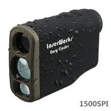 Лазерный дальномер 1500 м, дальномер, цифровой 1500 м, Монокуляр, охотничий телескоп, trena golf, дальномер, рулетка