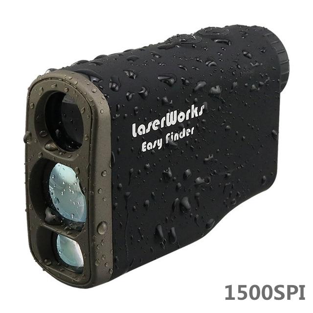 Laser Rangefinder 1500 Meter Distance Meter Digital 1500M Monocular Hunting Telescope trena golf range finder tape measure