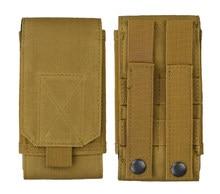Exército Tático Saco Hip Cintura Belt Loop Case Capa Universal bolsa Holster para Asus Zenfone 2 ZE551ML Z3560 Z3580 Zoom ZX551ML