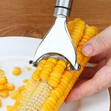Durable Stainless Steel Kitchen Tool Corn Cob Stripper Remover Peeler Home Garden Supplies