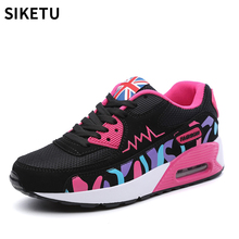 цены New Sneakers Women Fashion Breathable Platform Shoe Casual Female Footwear Leisure Ladies Shoes Women's Vulcanize Shoes