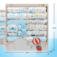 Newborn Baby Clothes Set Infant Boy Girl Spring Summer Clothing 100% Cotton Cartoon Shape Comfortable Baby's Gift Clothes Box