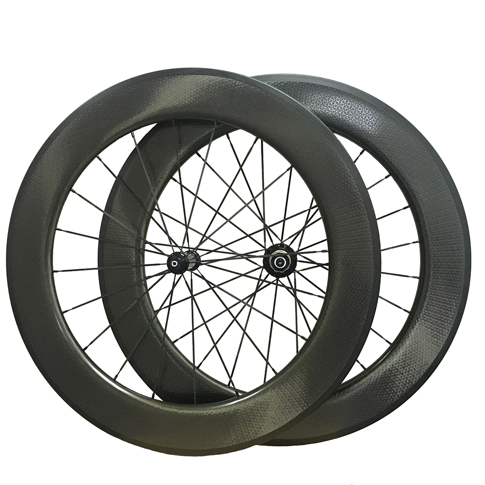 only one piece 50mm tubular carbon fiber racing rim Dimple finish,25mm width