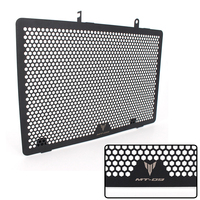Black Motorcycle Accessories Radiator Guard Protector Grille Grill Cover For YAMAHA MT09 MT 09 FZ09 FZ