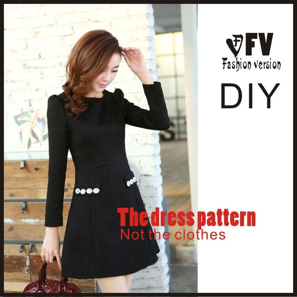 1f675275c78f9 فساتين ملابس الخياطة نمط قالب قطع الرسم ديي ((وليس بيع الملابس)) blq-155