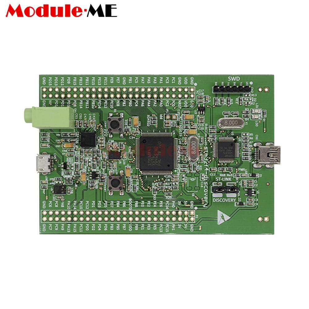 Stm32f4 Scoperta Stm32f407 Cortex-m4 Modulo Scheda di Sviluppo ST-link V2 Connettore SWD 3 v/5 v Micro- AB Interfaccia USBStm32f4 Scoperta Stm32f407 Cortex-m4 Modulo Scheda di Sviluppo ST-link V2 Connettore SWD 3 v/5 v Micro- AB Interfaccia USB