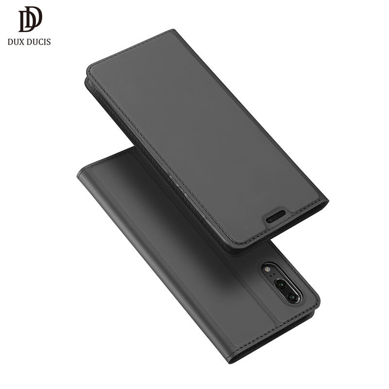DUX DUCIS De Luxe En Cuir Flip Cas pour Huawei P20 Cas P 20 Pro Portefeuille Téléphone Cas pour Huawey P20 Pro Plus Couverture de Livre Coque Etui