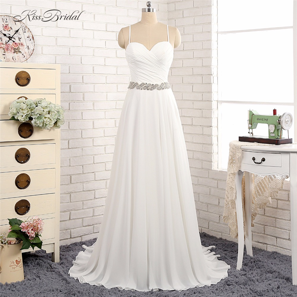 Cheap Wedding Dresses Colorado Springs: Aliexpress.com : Buy 2018 New Romantic Beach Wedding