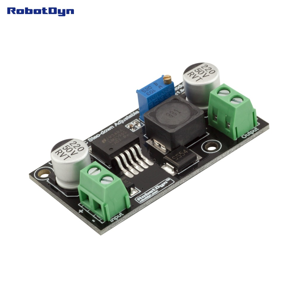Original Lm2596 Dc Step Down Buck Adjustable Power Supply Module Variable Circuit Together With Vin 336v Vout 1534v Real 3a In Integrated Circuits From Electronic Components