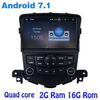 Android 7 1 Quad Core Car Radio Gps For Chevrolet Cruze 2008 2013 With 2G RAM