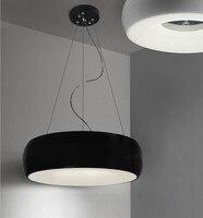 LED Pendant Lights Fittings Intelligent dimming LED Lamp study dining room lighting aluminum bedroom ceiling lamp lanterns