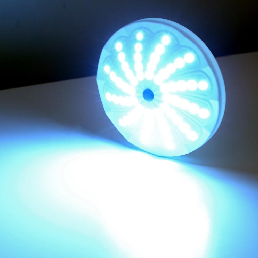 1pc Portable 60 LED Lantern Tent White Light Lamp Flashlight For Fishing Camping