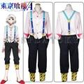 Tokyo Ghoul Juuzou Suzuya Shirt Pants Outfit Cosplay Costume