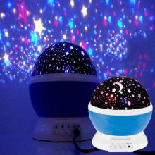 Звездный проектор, Лунная лампа, Ночной светильник, USB светодиодный счетчик часов, 4 кнопки, 360 градусов, 3 яркости, Диммируемый, подарок для детей, для сна# XTN