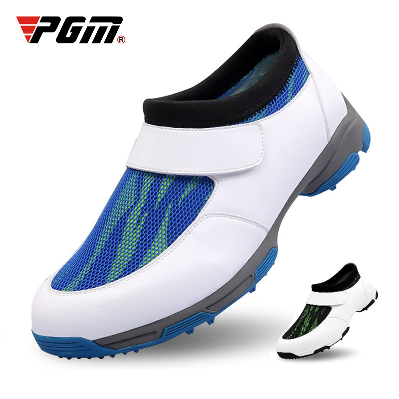 Pgm Mans Golf Shoes Mesh Hook Loop Breathable Golf Sneakers Designers Patented Ultra Light Outdoor Sneakers AA51024Pgm Mans Golf Shoes Mesh Hook Loop Breathable Golf Sneakers Designers Patented Ultra Light Outdoor Sneakers AA51024