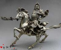 Редкий Старый династии Цин (QianLong1711 1799) Guangong Статуя, древнего Китая самых верных бог войны, украшения, бесплатная доставка,