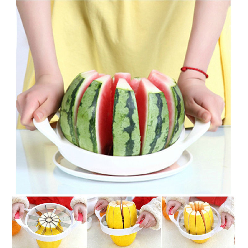 Exceptional Watermelon Slicer Melon Cutter Fruit Cutting Fruit Cutter Kitchen Tools  Gadgets Kitchen Accessories Watermelon Knife In Shredders U0026 Slicers From  Home ...