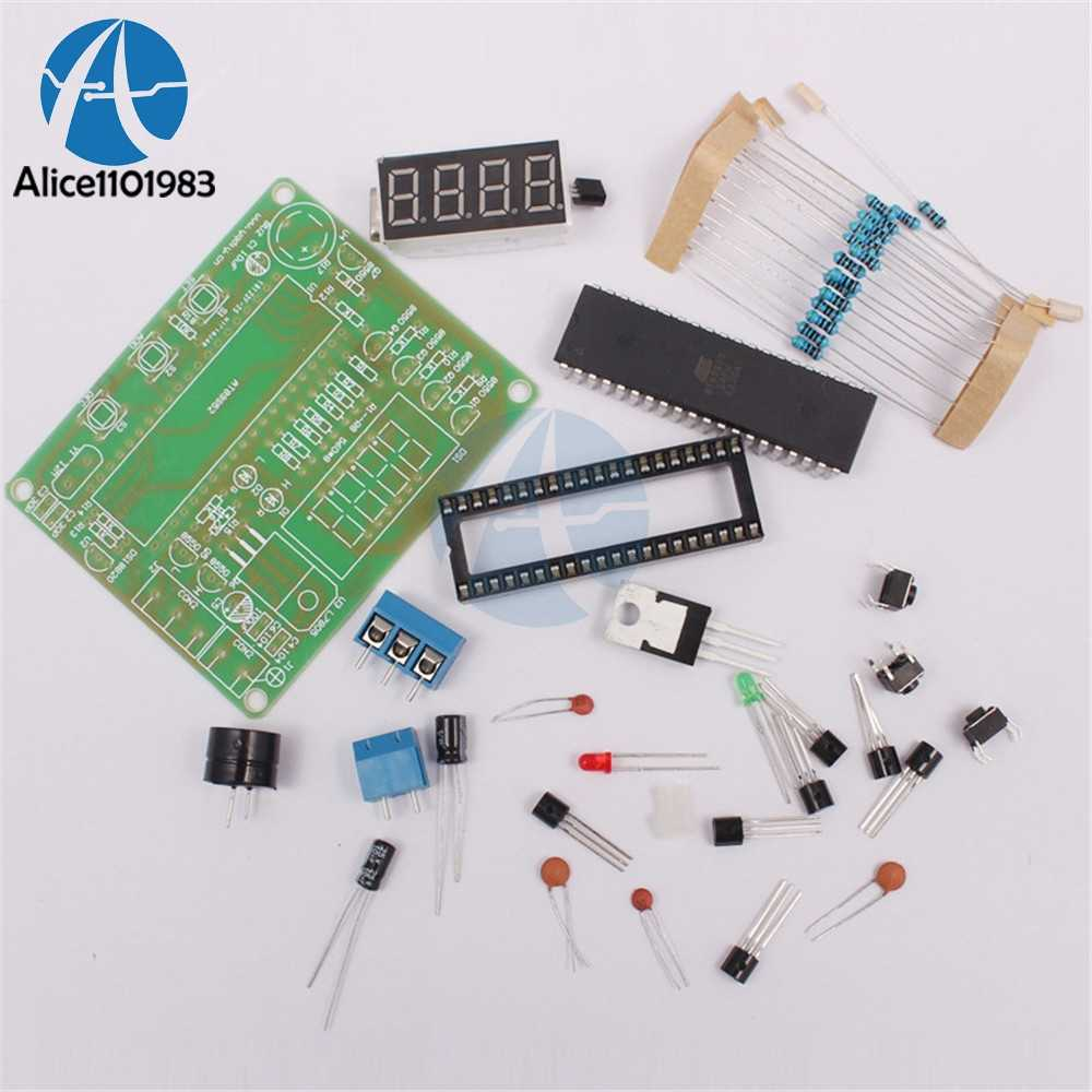 digital temperature controller circuit diagram chrysler infinity amp wiring detail feedback questions about diy kits at89c2051 ds18b20 kit led alarm microcontroller design thermometer electronic suit