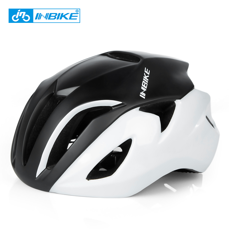INBIKE New Ultralight Road Bicycle Helmet Men Women Integrally-molded Cycling Helmet Sports MTB Safety Mountain Bike Helmet new am xc off road bicycle helmet