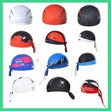 Cycling Cap Sweatproof Sunscreen Headwear Bike Team Scarf Coif Bicycle Bandana Pirate Headband Riding Hood Sports hat Headcloth