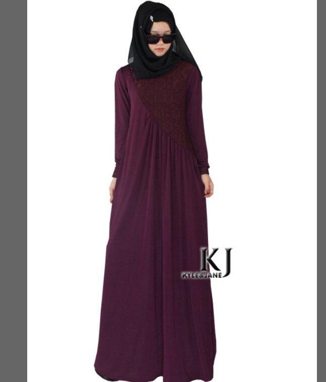 Buy Cheap 2016 New Design Muslim Abaya Dress Fashionable Lace Patchwork Abaya Dubai Kaftan Islamic Clothes Malaysia Muslim Maxi Dress Mother & Kids