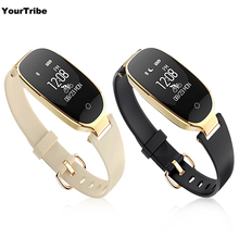 S3 Smart Bracelet Moniteur de Fréquence Cardiaque Réveil Étanche de Remise En Forme Montre Tracker Podomètre Étape Compteur Intelligent Bracelet noir