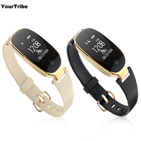 S3 Smart Bracelet Heart Rate Monitor Alarm Clock Waterproof Fitness Watch Tracker Pedometer Step Counter Smart
