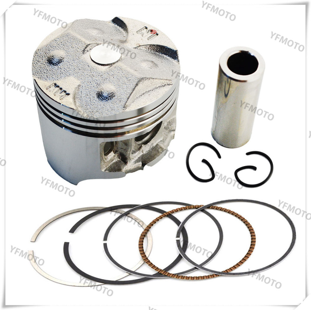 1 Set Motorcycle Piston Kit with Pin Rings Clips Set For Honda CBR250R CBR 250R MC19 1988-1989 Standard taishan ts250 254 tractor with fd295t engine the set of piston piston pin piston rings circlip liner and water sealing ring