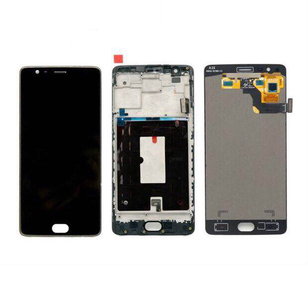 100% Tested LCD display for Oneplus 3 3T A3010 Touch Screen Digitizer Sensor Glass Panel Assembly 5.5 inch 1920*1080