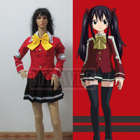 Cos Cosplay Fairy Tail Wendy Marvell Cosplay Costume