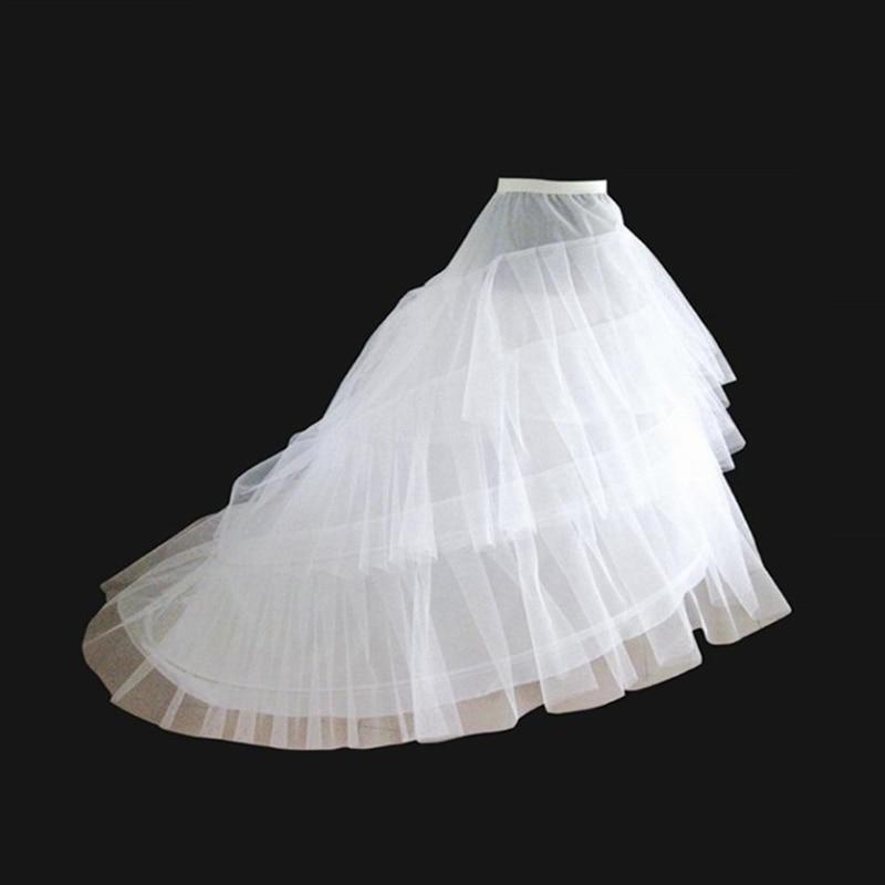 Champagne Petticoat For Wedding Dress Tulle Women Underskirt Jupon Mariage Crinoline Enaguas Novia Anagua De Vestido De Noiva
