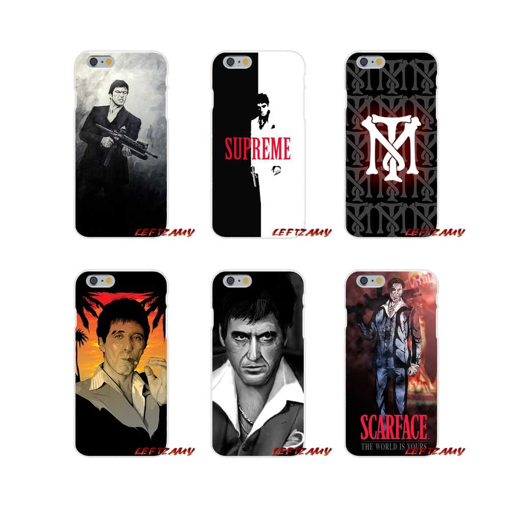 Scarface Tony Montana Nette Zubehör Phone Cases Covers Für iPhone X XR XS MAX 4 4 S 5 5 S 5C SE 6 6 S 7 8 Plus ipod touch 5 6