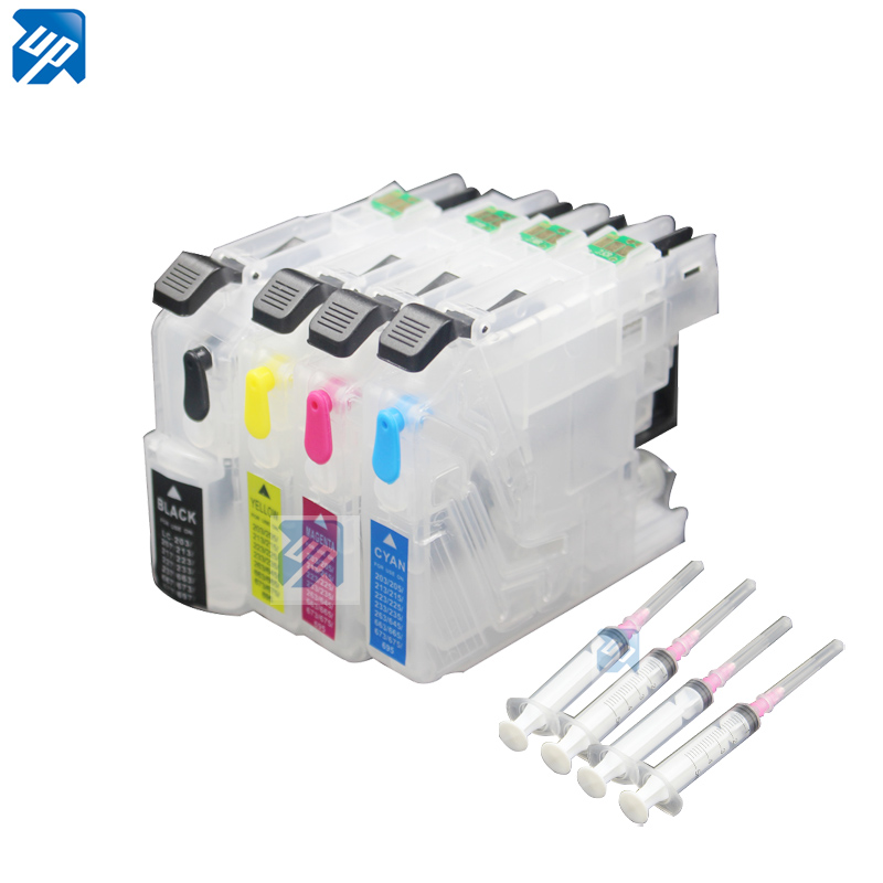 LC223 многоразовый картридж для принтера brother DCP-J562DW MFC-J480DW J680DW J880DW MFC-J5320DW MFC-J5625DW с чипом ARC