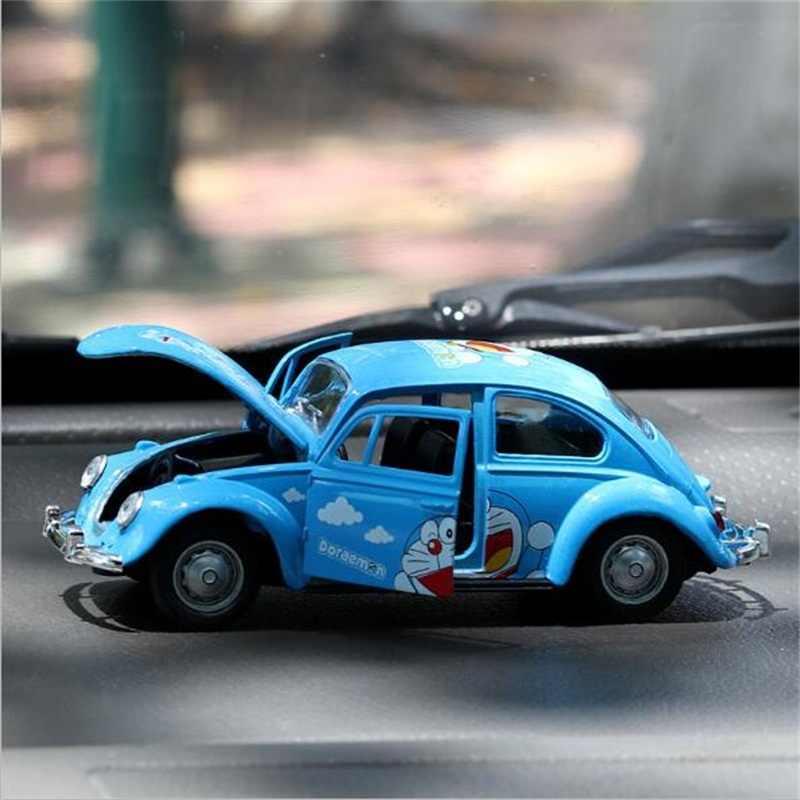 1:36 aleación Beatle Diecasts y vehículos de juguete colección de coches modelo pull back modelos coches juguetes para niños regalos de cumpleaños de Navidad
