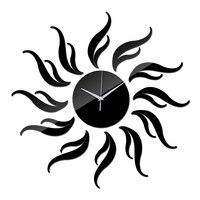 Promoção nova chegada acrílico relógio de quartzo parede presente decoração para casa novidade relógio seguro design moderno decoração