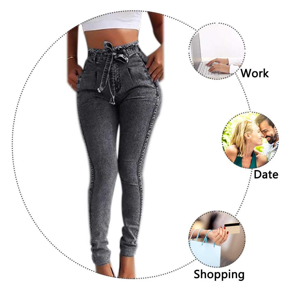 CALOFE 2020, pantalones vaqueros de verano de cintura alta