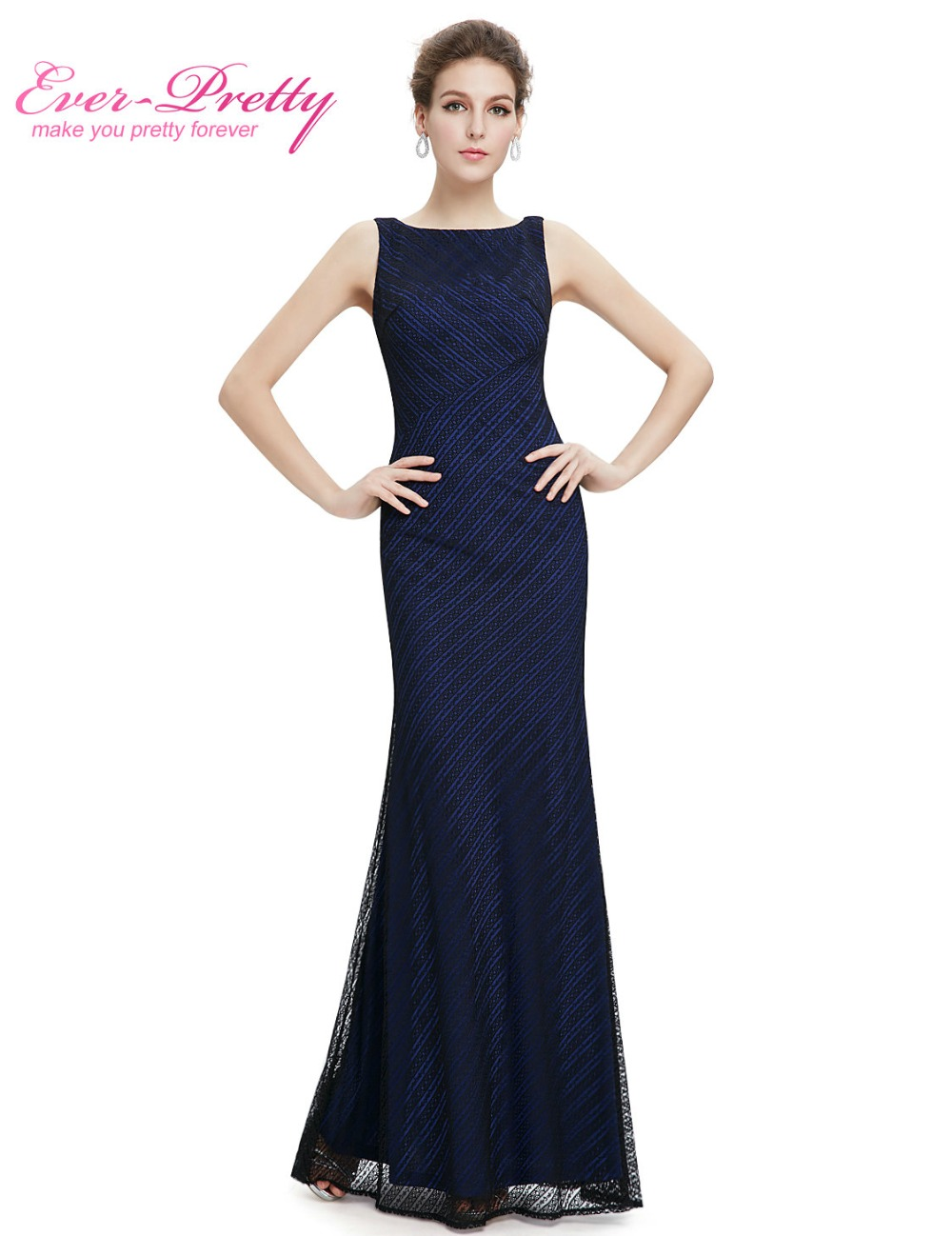 Clearance Sale] Formal Evening Dress Ever Pretty HE08777 Lace ...