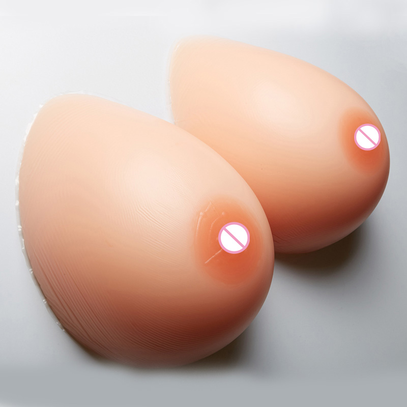 1400g/pair Huge breast Artificial Silicone crossdresser Fake Breasts realistic Transsexuals Boobs 38DD/40D/36E Cup Big Tits fake silicon breasts 2000g huge boobs
