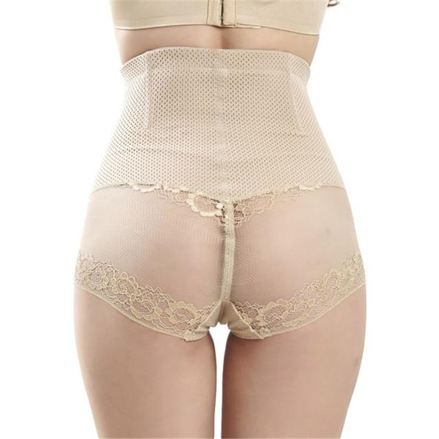 Women Slimming High Waist Body Shaper Briefs Control Abdomen Hips Shapewear