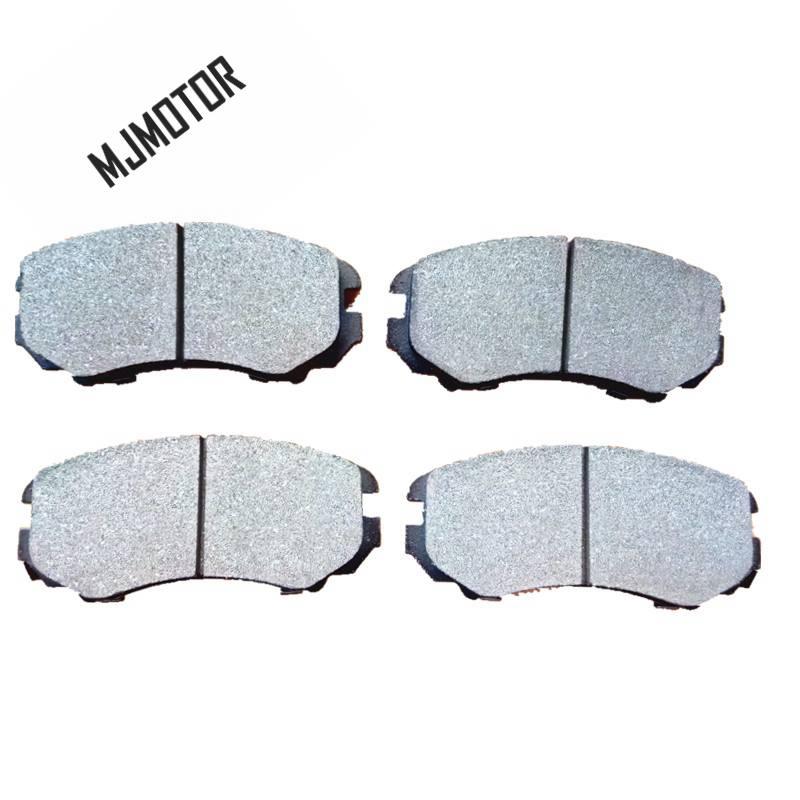 (4 pièce/ensemble) jeu de plaquettes de frein avant KIT-FR frein à disque pour Hyundai SONATA TUCSON COUPE KIA OPTIMA Auto voiture moteur partie 58101-2CA10